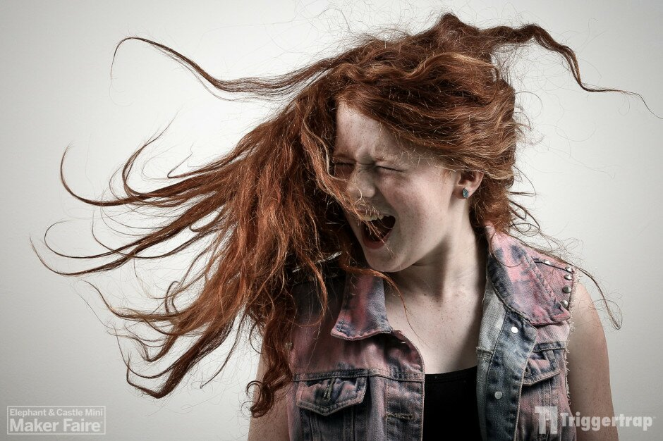Best hair action of the day, I think